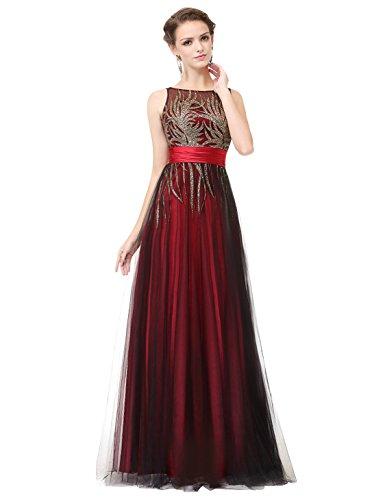 Vestido Ever Red Pretty 1 para mujer 5AnxvwOaqA