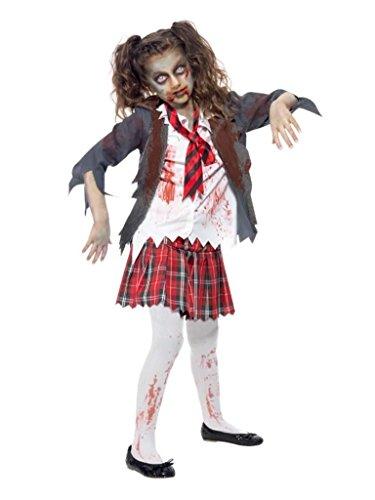 Zombie School Girl Costume - (Kids Zombie School Girl Costume)