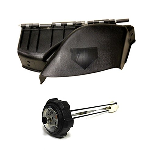 Deck Discharge (Snapper 7600147YP-KIT Combo Mower Deck Discharge Chute + Gas Cap/Gauge Ready to Install)