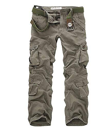 Tissu Randonnée Sche Hommes Combat En Coton Grün1 Chaud Cargo Lanceyy Pants Armee aucun Décontracté Multi Simple Style Pantalon De Poche X6Iqnw