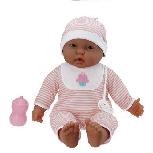 JC Toys 'Lots to Cuddle Babies' Hispanic 20-Inch Peach Soft