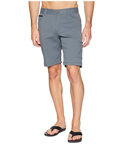 Columbia Men's Outdoor Elements Stretch Shorts, Size 36x10, Graphite