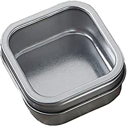 60 Clear Top Mint Tin Favors