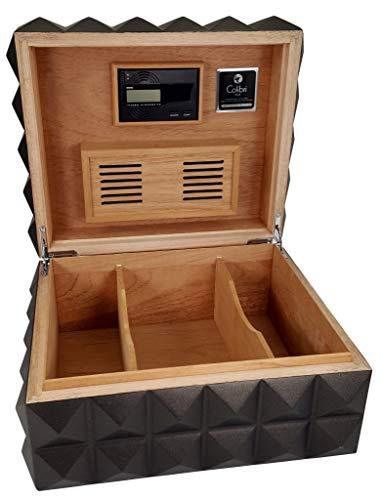 Colibri Heritage Cigar Humidor Black