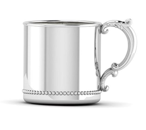 sterling silver baby cup - 5