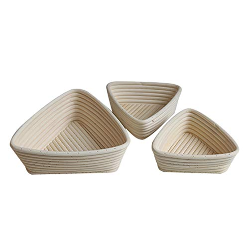 Best Quality - Baking Inserts - Creative Fermentation Rattan Basket Country Bread Baguette Dough Banneton Bread Mould Pastry Storage Holder Fruit Baskets - by GTIN - 1 PCs by HIBISCUS. (Image #6)