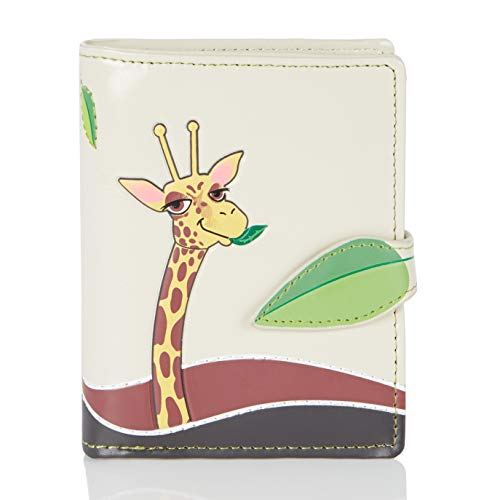 Wallet orange Various Beige The and designs Purse Young Ladies Park colors Shagwear Small Giraffe Bench EwZ11q