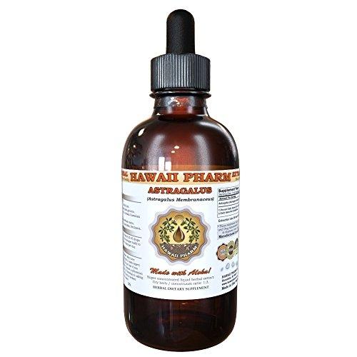 Astragalus Liquid Extract, Organic Astragalus (Astragalus membranaceus) Dried Root Tincture Supplement 2 oz