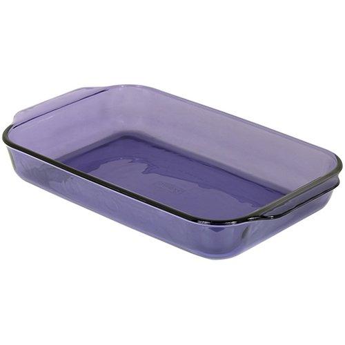 Pyrex Bakeware Rectangular Baking Dish, Amethyst