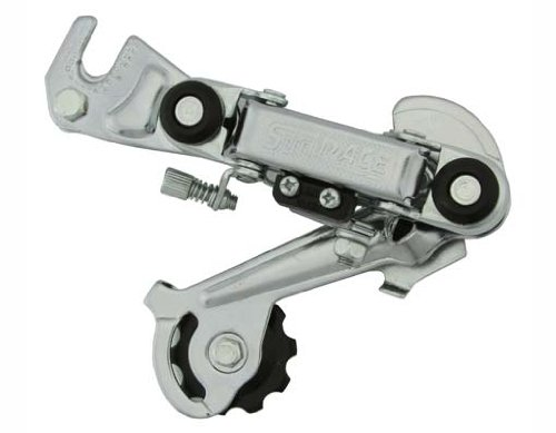 Rear Derailleur Long Arm. for bicycles, bikes, for beach cruiser, mountain bike, track, fixies, fixed gear by Lowrider