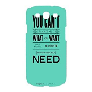 SamSung Galaxy S3 9300 cell phone cases White I AM A DREAMER fashion phone cases UIWE593190
