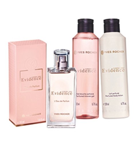 Amazoncom Yves Rocher Comme Une Evidence Perfume 3 Piece Gift Set
