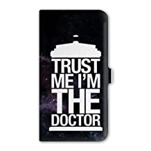 Leather flip case Samsung Galaxy Grand Prime Doctor Who - - trust N -
