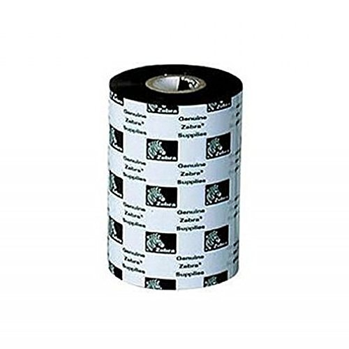 Zebra Technologies 05555BK17445 5555 Enhanced Wax/Resin Ribbon, 6.85'' Width x 1476' Length, 1'' Core by Zebra Technologies