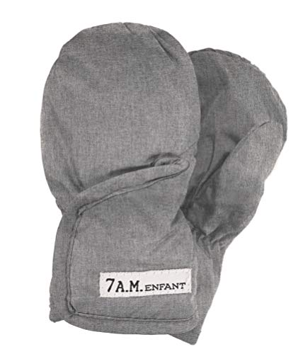 Best Price! 7 A.M. Enfant Classic 212 Mittens (Small, Heather Grey)