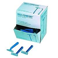 Med-Comfort Einmalrasierer - blau - einschneidig - 100 Stück