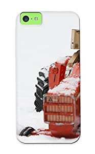 meilinF000New Arrival Case Specially Design For iphone 4/4s (danbo Tractor Miniature Snow Winter Humor Amazon )meilinF000