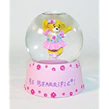 Build a Bear Workshop Ballerina Be Bearrific Mini Snow Globe