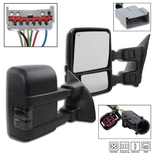 manual f250 tow mirrors - 7