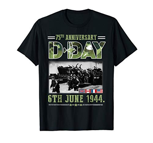 D Day 6 June 1944 Shirt D-Day 75th Anniversary T-Shirt