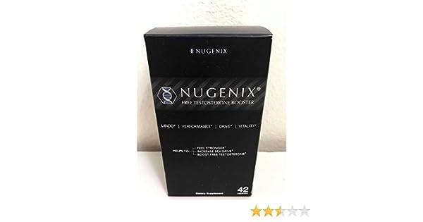 Amazon.com: Nugenix Natural Testosterone Booster 42 Capsules: Health & Personal Care