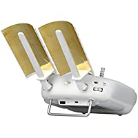 Drone Fans 2pcs Remote Copper Parabolic Antenna Signal Booster Range Extender (Enhanced version) for DJI Phantom 4 3 Inspire 1 Remote Controller