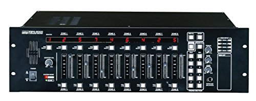PX-8000 8X8 AUDIO MATRIX CONTROLLER, PAGING MIC INPUT BUILT-IN MONITORING SPEAKER, DRP RECORDING/PLAYBACK by Interm