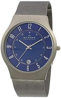 Skagen Men's 233XLTTN Titanium Watch (B0007X9F74) | Amazon Products