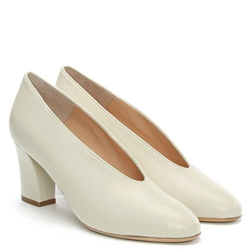 Aneso White Shoes Leather Front Leather Daniel Court Beige V 4qS5wxYd