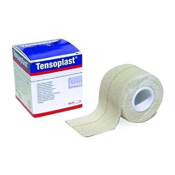 "2594002 Bandage Tensoplast Wound 2""x5yd Medium Support/Compression Roll Part No. 2594002 by- Beiersdorf/Jobst Inc."