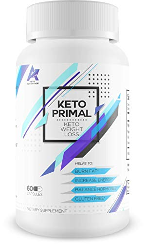 Keto Primal – Keto Weight Loss – Burn Fat – Induce Ketosis Quicker – Help to Balance Weight Loss and Increase Energy – Boost Brain Function as You Burn Fat Faster with exogenous Ketones – Melt it Off