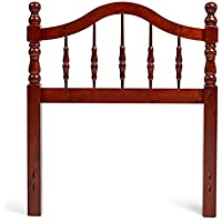 Mantua HB33-TC Victoria Wood Headboard, Twin, Cherry Finish