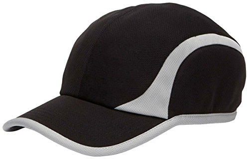 Adams Marathon Performance Mesh Cap (Black_Grey) - Mesh Cap Marathon