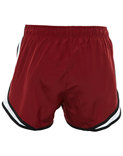 Red Women's Team White Dry Running NIKE Tempo Short Black CnOUqqd6