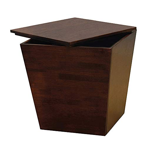 Winsome Trading, Inc. Mezo Cube Storage, Walnut (Trunk Square Table Side)
