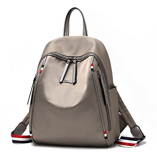 RFVBNM Mochila de las mujeres mochila de moda bolsas de alta calidad para mujer mochila hombro mochila oxford de señora de la lona mochila de la momia mejor regalo para las niñas, de color caqui