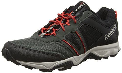 Reebok Herren Trail Voyager RS 2.0 Outdoor Fitnessschuhe, Schwarz (Black/Dark Sage/Sand Stone/Atomic Red), 40.5 EU
