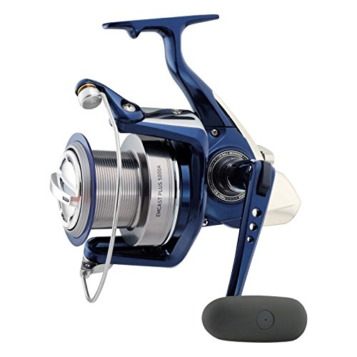 Cheap Daiwa Emcast Plus 5000A Spinning Reel, Silver