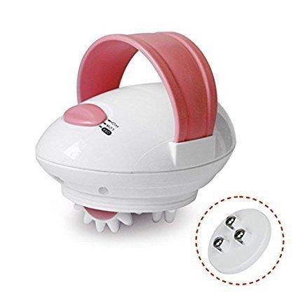 ETTG 3D Mini Full Body Relax Body Motorized Roller Electric Massager (Pink)