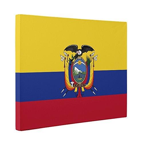 Ecuador Flag CANVAS Wall Art Home Décor