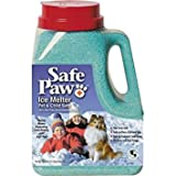 Safe Paw Non-Toxic Ice Melter Pet Safe, 8 lbs. 3 oz - Pack of 4