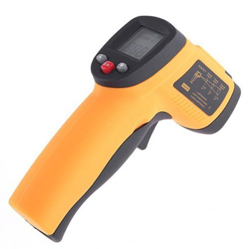FDL Infrared Digital Thermometer Temperature Gun Non-contact Laser Point-50~380?c Model: (Home & Kitchen)