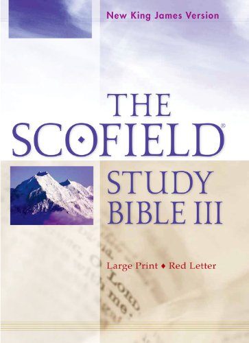 The Scofield Study Bible III, NKJV, Large Print Edition
