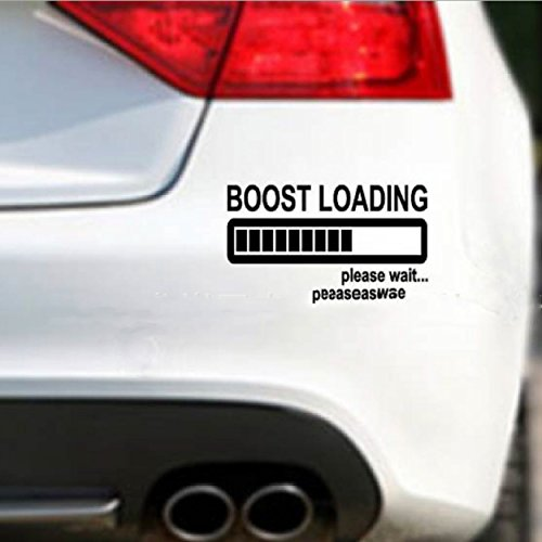 Boost loading 3d funny jdm waterproof sticker vinyl decal sticker die cut vinyl car decal sticker