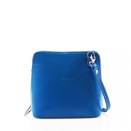 Cross Leather Italian CWV0026 BLUE Women's Ladies Bag Fashion Quality Body Designer xHwn7XYq