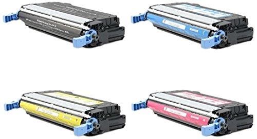 (TonerBoss Remanufactured Toner Cartridge Replacement for HP 643A ( Black,Cyan,Magenta,Yellow , 4-Pack ))
