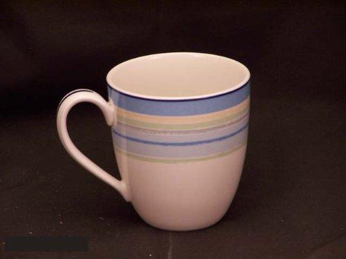 (Noritake Java Blue Swirl 15-ounce Mug)
