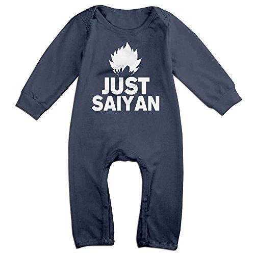 [ROBERT Baby Infant Romper Dragon Ball Super Saiyan 8 Long Sleeve Jumpsuit Costume 18 Months] (Buu Costume)