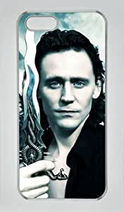 Loki:Thor The Dark World-012 Iphone 5/5S Transparent Sides Hard Shell Case by eeMuse