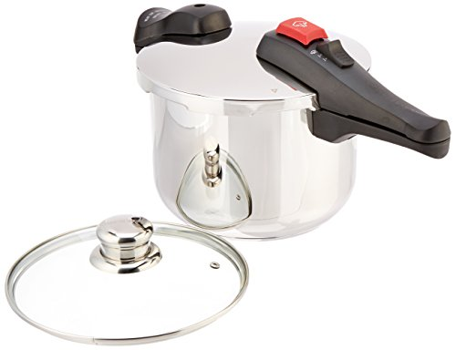 Chef's Design D6 Stainless Steel Dual Function Pressure Cooker, 6-Liter by Chef's Design